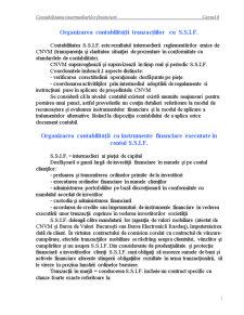 Contabilitatea Intermediarilor Financiari - Cursul 6 - Pagina 1