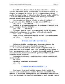 Contabilitatea Intermediarilor Financiari - Cursul 10 și 11 - Pagina 1