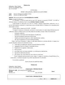 Metodologia de Derulare a Misiunii de Audit Intern și Valorificarea Rezultatelor - Pagina 5