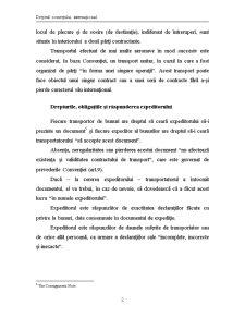 Contractul de transport aerian - Pagina 2