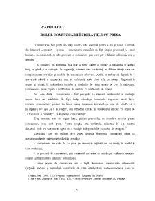 Tehnici de Comunicare cu Presa - Comunicatul de Presa - Pagina 5