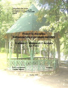 Calimanesti - Caciulata - Infrastructura Turistica - Pagina 1