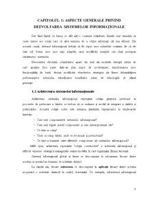 Factori de Succes în Dezvoltarea Sistemelor Informaționale - Pagina 5