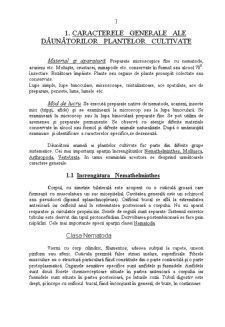 Caractere Generale ale Daunatorilor Plantelor Cultivate - Pagina 1