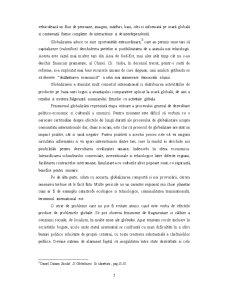 Globalizarea si Statele Mici si Mijlocii - Studiu de Caz Romania - Pagina 5
