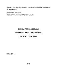 Plan de Afaceri - Pastravarie - Pagina 1