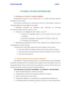 Cotarea Valorilor Imobiliare - Pagina 1