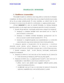 Tranzacții Bursiere - Pagina 1