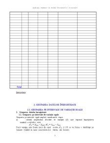 Utilizare Sondajului în Caracterizarea Fenomenelor Economico-Sociale - Pagina 3
