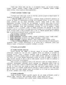 Managementul Proiectelor - Cadrul Logic - Pagina 2