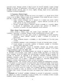 Managementul Proiectelor - Cadrul Logic - Pagina 4