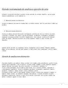 Metode Instrumentale de Analiza a Operelor de Arta - Pagina 2
