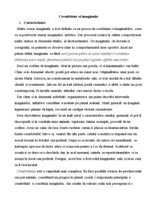 Istoria Creativitatii - Pagina 1