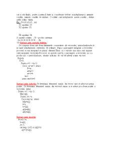 Structuri de Date - Pagina 5