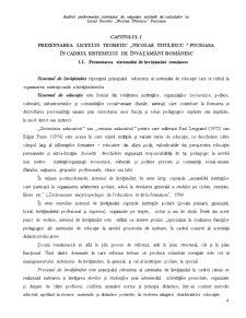 Auditul Performantei Sistemului de Educatie Asistata de Calculator la Liceul Teoretic Nicolae Titulescu - Pucioasa - Pagina 4