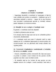 Adoptarea și Revizuirea Constituției - Pagina 1