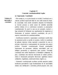 Controlul Constitutionalitatii Legilor - Pagina 1