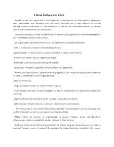 Organizarea si Tehnica Servirii Mesei de Revelion - Pagina 4