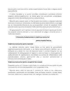 Organizarea si Tehnica Servirii Mesei de Revelion - Pagina 5