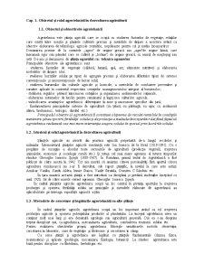 Obiectivul și Rolul Agrotehnicii în Dezvoltarea Agriculturii - Pagina 1