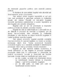 Buget și Fiscalitate - Pagina 3