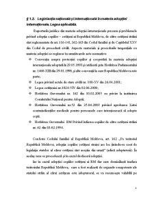 Adopția Copiilor Cetățeni ai Republicii Moldova de către Cetățeni Străini - Pagina 4
