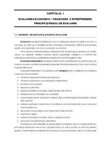 Evaluarea Întreprinderii - Pagina 1
