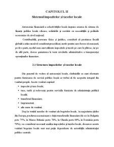 Sistemul Impozitelor și Taxelor Locale - Pagina 1