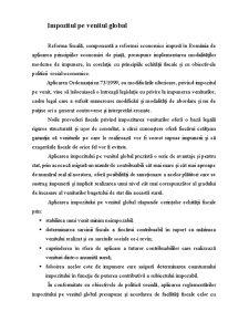 Impozitul pe Venitul Global - Pagina 1