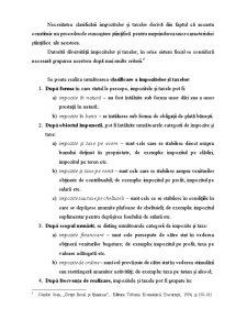 Locul și Rolul Impozitelor și Taxelor în Sistemul Pârghiilor economico-financiare - Pagina 5