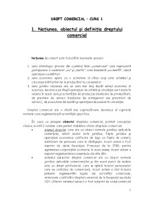 Drept Comercial - Pagina 1