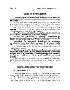 Comerț Internațional - Pagina 1