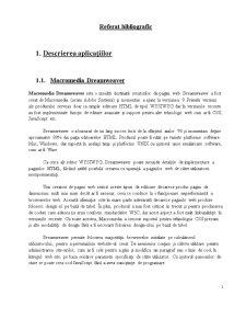 Referat Bibliografic Php și MySQL - Pagina 1