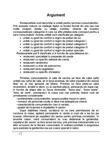 Pregatirea si Servirea Mesei, Arta Aranjarii Meselor - Pagina 1