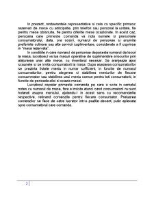 Pregatirea si Servirea Mesei, Arta Aranjarii Meselor - Pagina 2