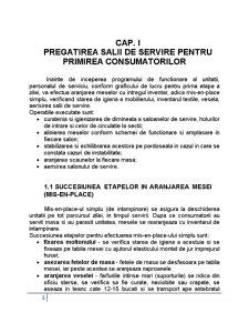 Pregatirea si Servirea Mesei, Arta Aranjarii Meselor - Pagina 3