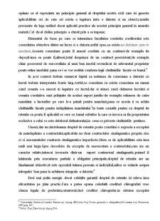 Dreptul de Retentie - Pagina 2