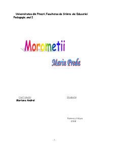 Morometii de Marin Preda - Pagina 1
