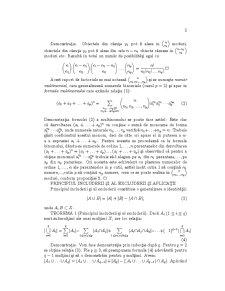 Combinatorica si Teoria Grafurilor. Partea intia: Elemente de Combinatorica - Pagina 3