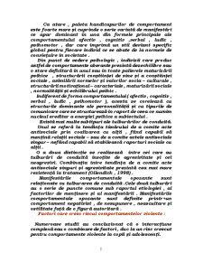 Tulburari de Comportament - Metode de Interventie - Pagina 2