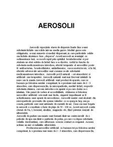 Aerosoli - Pagina 1