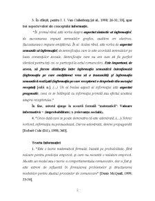Diversitatea Informatiilor - Pagina 2