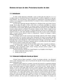 Gestiunea Bazelor de Date - Pagina 1