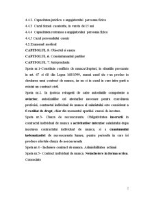 Incheierea Contractului Individual de Munca - Pagina 2