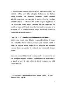 Incheierea Contractului Individual de Munca - Pagina 4