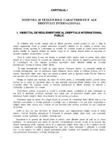 Drept International Public -1- - Pagina 1