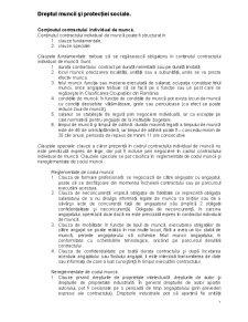 Dreptul Muncii și Protecției Sociale - Pagina 1