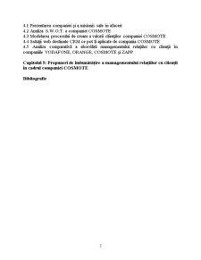 Managementul Relațiilor cu Clienții în Cadrul Companiei Cosmote - Pagina 3