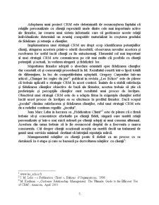 Managementul Relațiilor cu Clienții în Cadrul Companiei Cosmote - Pagina 5