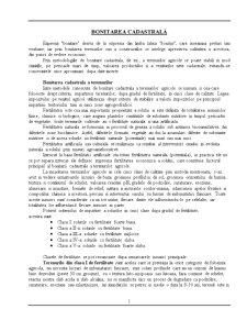 Bonitarea Cadastrală - Pagina 1